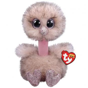 TY Beanie Boo's Struisvogel Knuffel Henna 24 cm