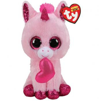 TY Beanie Boos Eenhoorn Knuffel Valentine Darling 15 cm