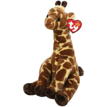 TY Beanie Babies Giraffe Knuffel Gavin 15 cm