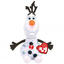 TY Disney Frozen 2 Olaf Knuffel met Geluid 15 cm