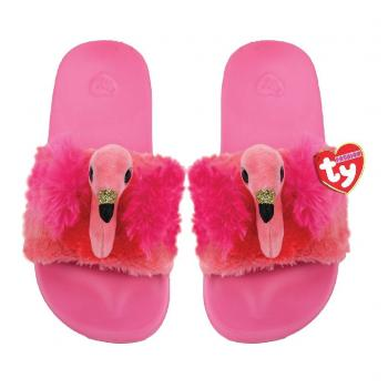 TY Fashion Slippers Flamingo Gilda Maat 32-34