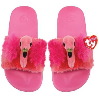 TY Fashion Slippers Flamingo Gilda Maat 36-38