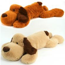 Pluche Knuffel Hond Liggend 100 cm Assorti