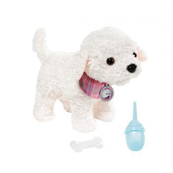 Baby Born Puppy Doodle Charlie met Flesje en Bot