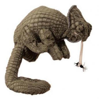 Beleduc Kameleon Handpop Knuffel