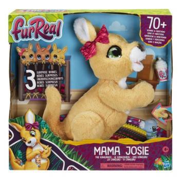 FurReal Friends Mama Josie de Kangoeroe + 3 Baby's en Geluid