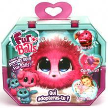 Fur Balls Roze Knuffeldier