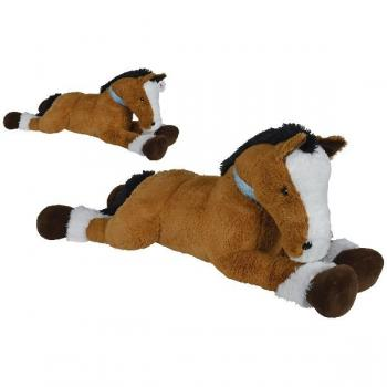 Simba Liggend Pluche Paard 120cm