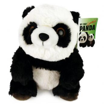 Pluche Panda Beer Knuffel Zittend 35 cm